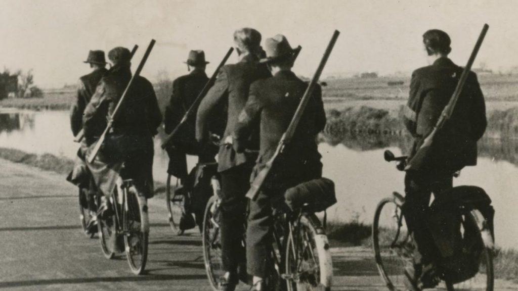 landwachters-op-fiets